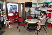 野村給油所(休憩スペース)